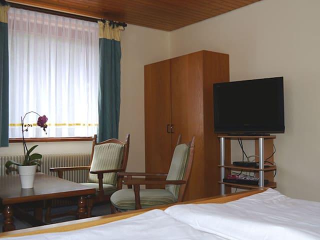 Gasthof-Pension Stockbrunnen, (Oberndorf), Doppelzimmer mit Dusche und WC