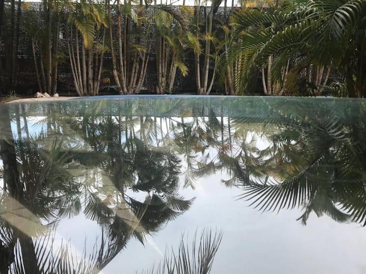 Villa cocooning ambiance tropicale, trois-ilets