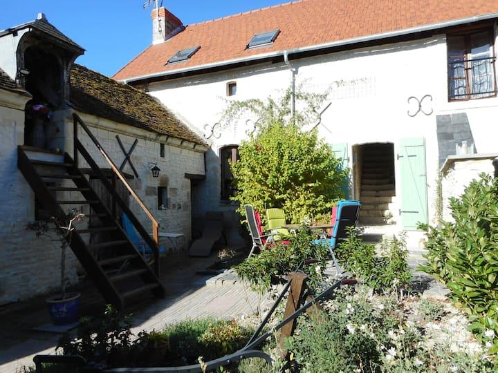 Cosy farmhouse 16th century with beautiful vieuws
