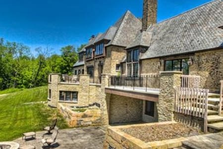 RNC Luxurious French Stone Manor - Gates Mills