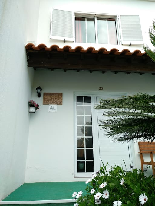 Green Acres Azores ground floor and 1st floor from outside front view.