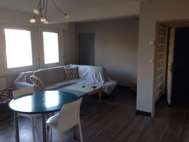 Appartement rosendael avec terrasse type loft - Dunkerque