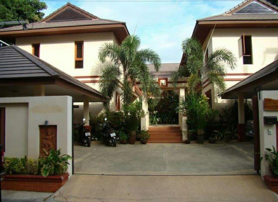 Malee House entrance