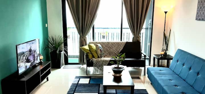 [ENHANCED] Aldridge Residence Cosy  2B @EMIRA