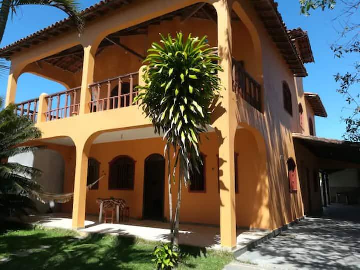 Casa de Praia Guanabara/Castelhanos 3qtos 2º andar