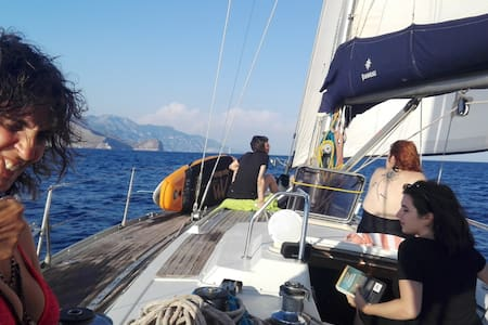 Sail to Capri Sorrento and Amalfi coast