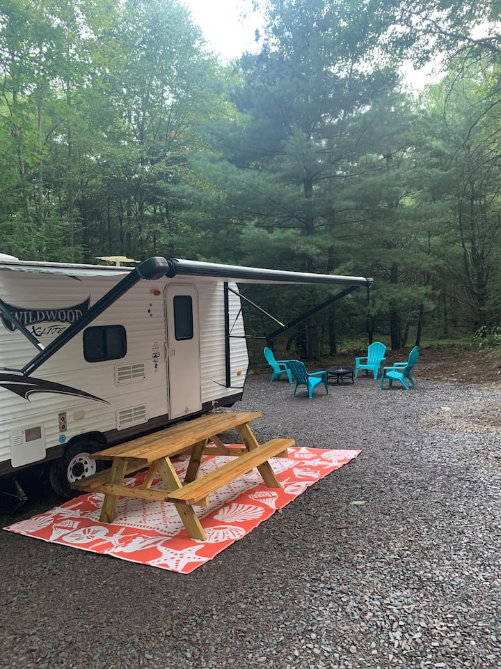 Camper Life at Ricketts Glen State Park