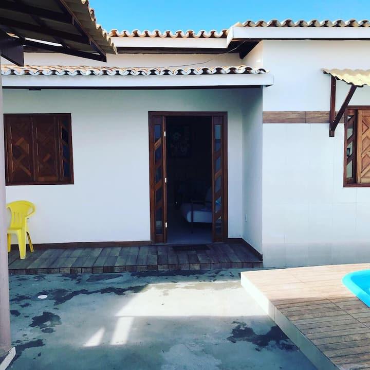 Casa 2/4 em Barra do Jacuipe