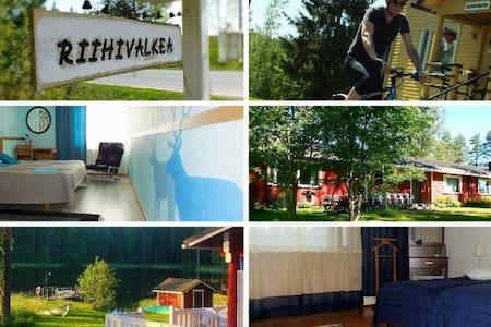 RIIHIVALKEA HOLIDAY CENTER - Kitee