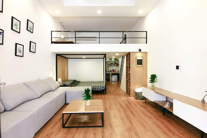 Modern Loft in Ancient Alley - 300m to Walking St