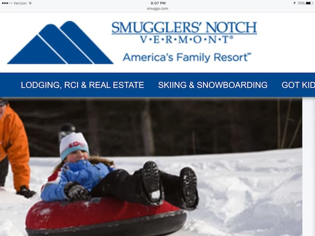 Vermont's Skiing & Snowboard Resort - Smugglers' Notch - Apartament