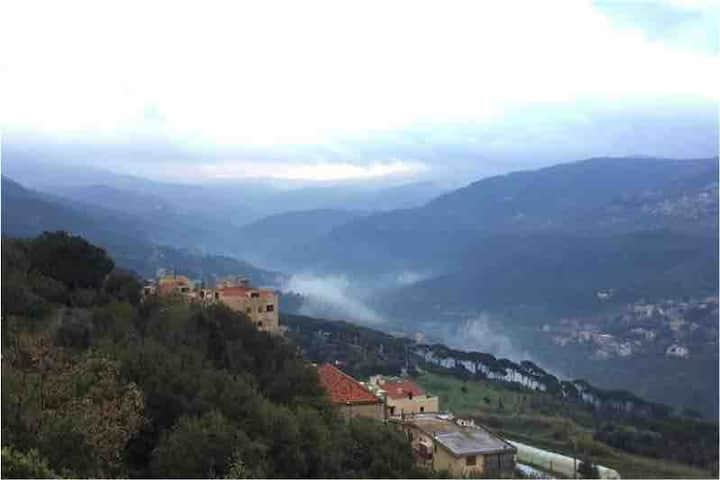 Baabdat The view