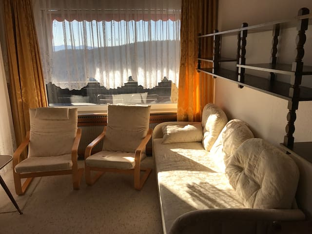 Cozy Apartment with great views. Sauna & Pool - Simonhöhe - Apartment