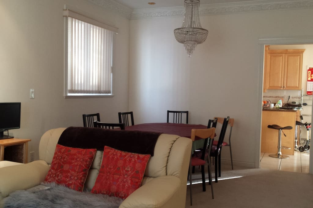 Your shared living room space