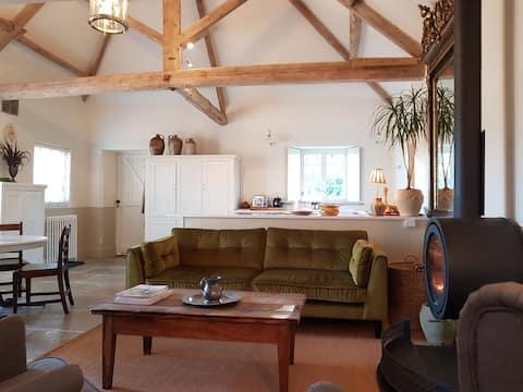 Seaves Mill luxury cottage Brandsby north of York.