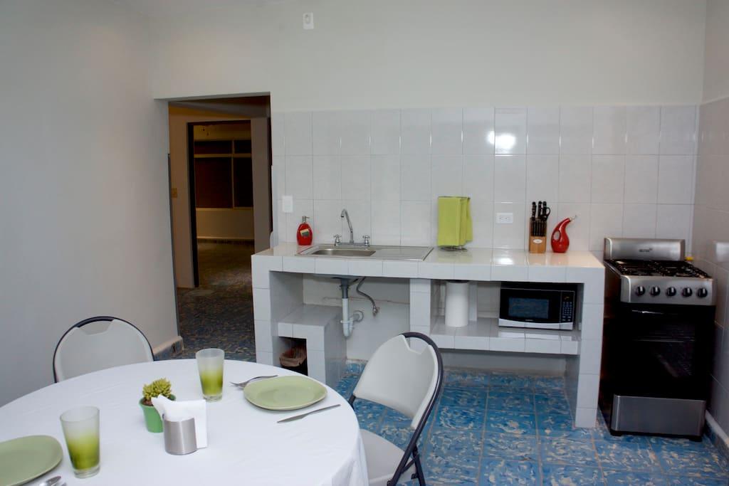 Cocina/área común