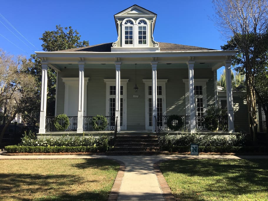 Private Garden District Studio Houses For Rent In New Orleans Louisiana United States