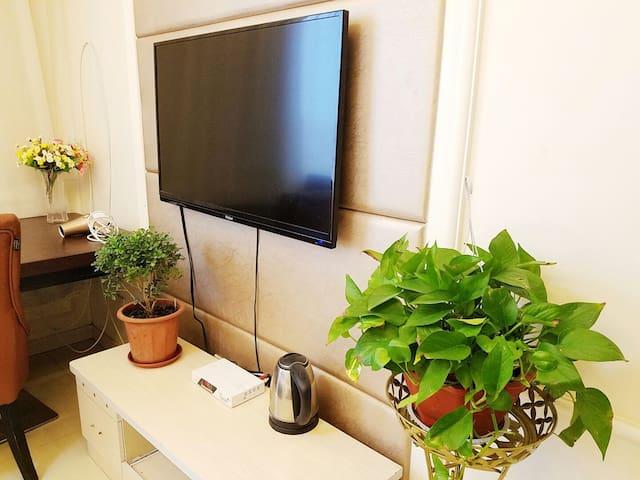 金石滩黄金海岸边的6-8人公寓套房,两个屋子,可以做饭 - Dalian - Wohnung
