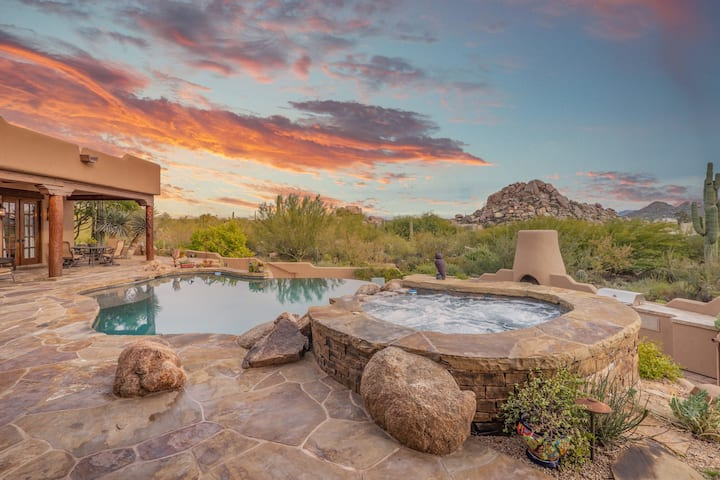 MILLION $ ESTATE+ MOUNTAIN VIEWS+WATERFALL+CASITA