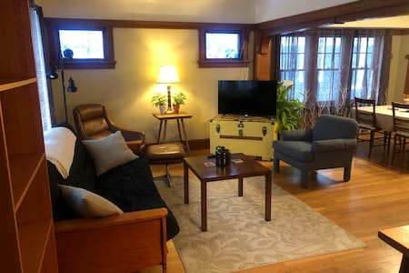 Fernwood Flats:  first floor apartment in BayView