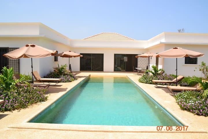 Villa privée au Sénégal tout confort