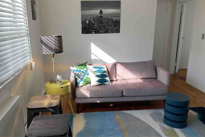 Cozy Jersey Apartment (NYC 15-20min)