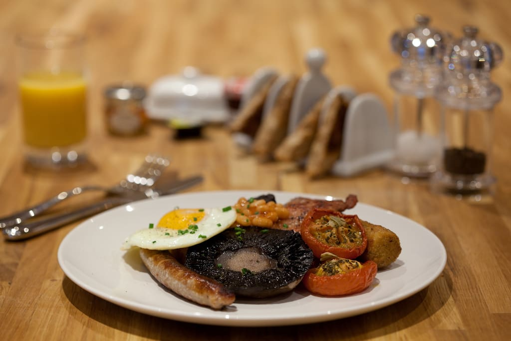 Breakfast can be added for £7 per day