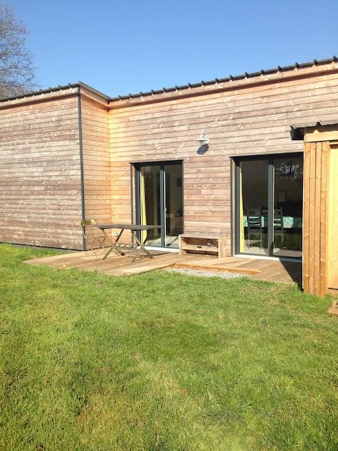 Maison en bois à St-Molf
