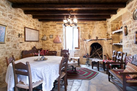 Old traditional stone built house - Heraklion