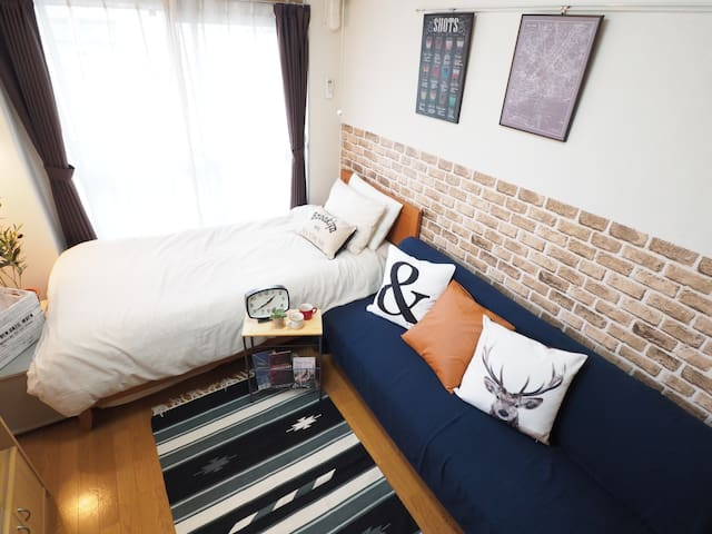 New!!5min station-Near Shinjuku Luxuary house9 - Shinjuku-ku - Διαμέρισμα
