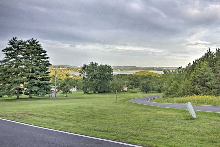 Step outside and enjoy distant views of Table Rock Lake.