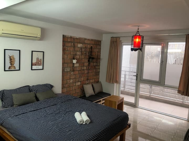 ★Cozy Bedroom with private BA in the ❤ of SAIGON