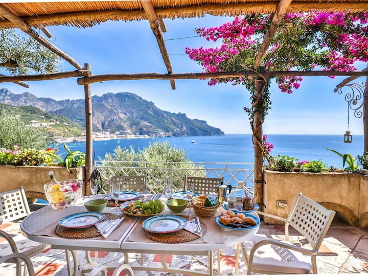 Villa in Amalfi Coast Sea View, 6 guest, ID 3196