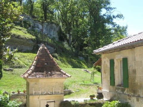 Gîte dans un ancien moulin, Périgord vert