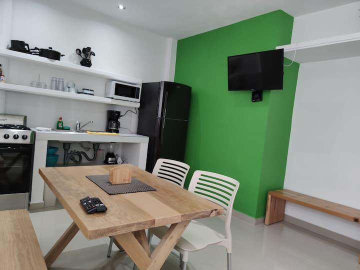 Verde Departamento 33 M2  Nuevo