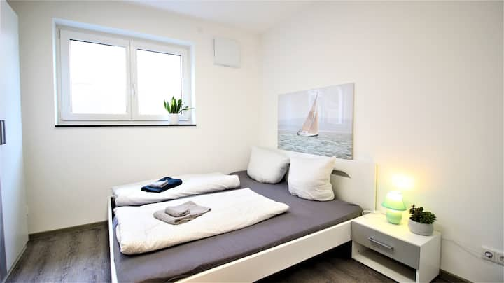 ➤ Barrier-free apartment with private parking
