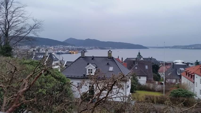 Apartment close to city centre with a nice view - Bergen - Daire
