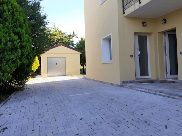 Apartment in Carpegna with garden