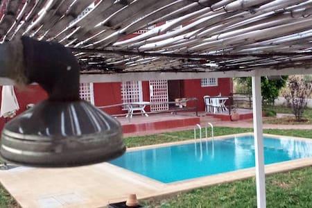 Ferme d'hôtes Aghbalou - La suite de luxe - Province de Séfrou - วิลล่า