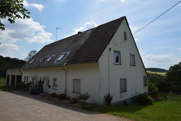 Idyllic Apartment in Hohenstein near Forest