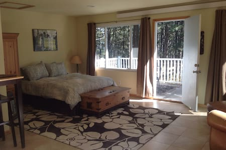 Bright private studio on treed lot - Evergreen - Autre