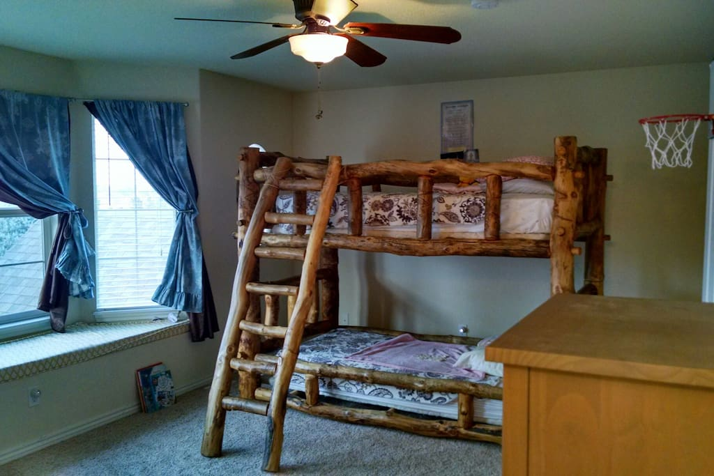 Upstairs Bunk Bed Room