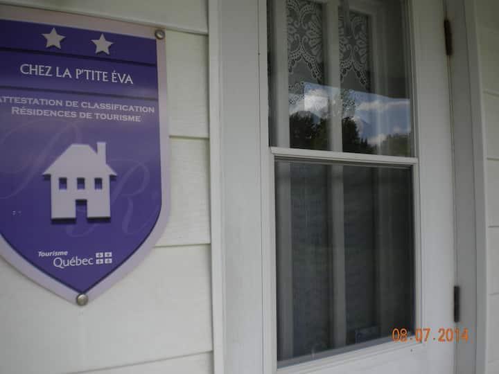Chez la p'tite Éva ==> Maison de campagne