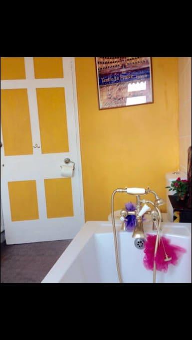 Sunny Bathroom!
