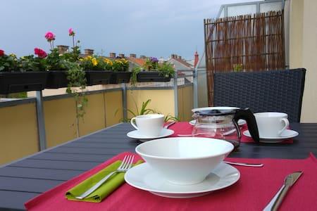 Visit-Vienna - Bright roof terrace apartment
