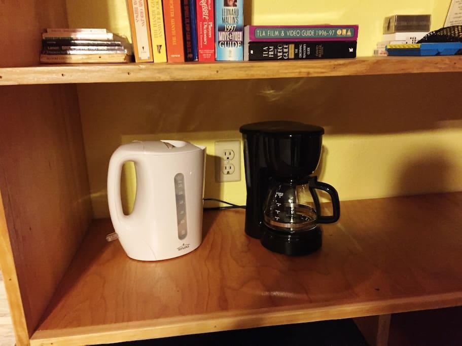 Tea or coffee??