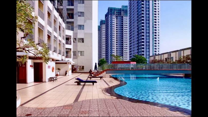 1BR apt in Bundaran HI, central Jkt - Tanah Abang