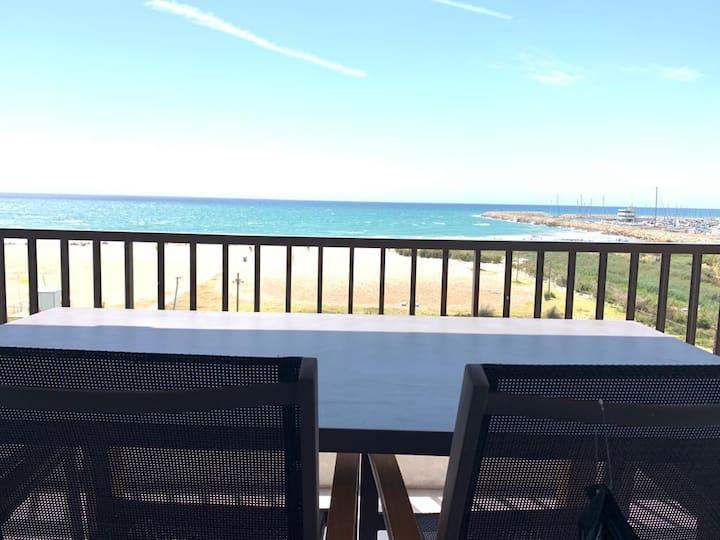 Espectaculares vistas al mar en Segur de Calafell