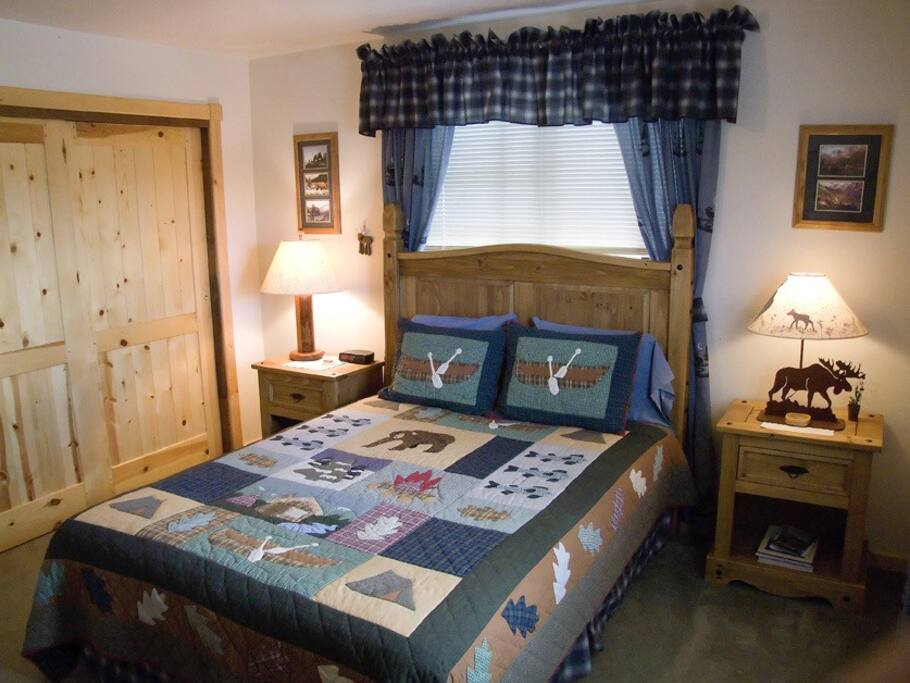 Teton View B B Jackson Hole Bear Den Suite Bed And Breakfasts For Rent In Wilson Wyoming