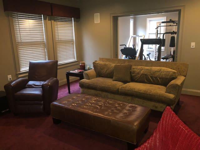 TV Room.
